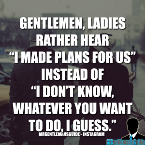 Gentleman Tips - Gentleman Quotes