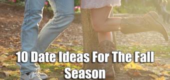 10 Date Ideas For The Fall Season