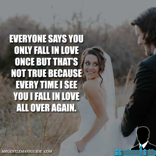 Only love once you fall in 50 Quotes