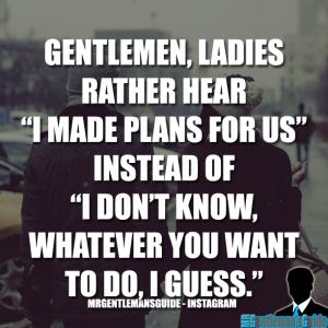 Gentleman Tips - Gentleman Quotes